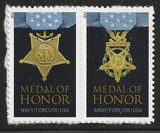 Us Scott# 4822-23, Par 2013 Medal Of Honor VF MNH