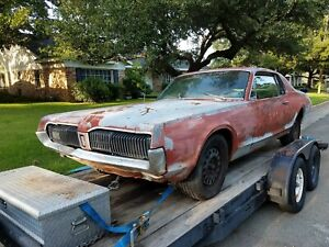 Exterior Parts For 1967 Mercury Cougar For Sale Ebay