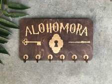 Alohomora key holder, Harry Potter inspired wall key holder, keys organizer