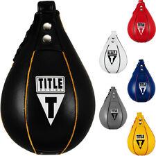 Title Boxing Super rápido de cuero bolso de velocidad