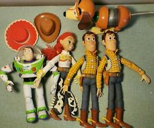 Lot de 5 Figurines Toy Story 1996 - 40cm Woody, Jessy, Buzz, Zigzag