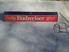 Vintage Budweiser Pool Table Light