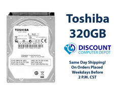 "320GB 2.5"" HDD Notebook / Laptop Hard Drive Internal SATA Toshiba Brand"