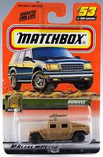 Matchbox #53 Humvee With MB 2000 Logo MOC