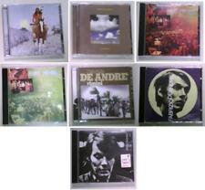 LOTTO 7 CD FABRIZIO DE ANDRE' live l'indiano volume 3 volume 8 le nuvole rimini
