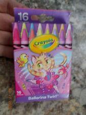 New Crayola 16 Count Ballerina Twirl Crayons
