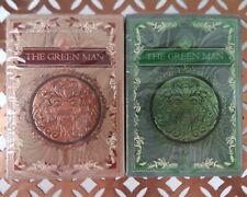 The Green Man Spring & Autumn 2 Deck Set New & Sealed Rare Jocu Playing Cards
