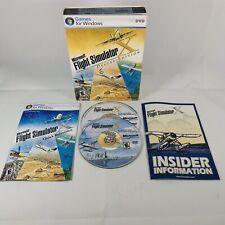 Microsoft Flight Simulator X Deluxe Edition (PC, 2006) Complete Excellent