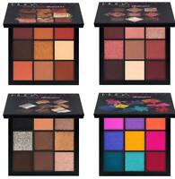 HUDA BEAUTY OBSESSIONS EYESHADOW PALETTE MAUVE SMOKEY WARM BROWN & ELECTRIC UK