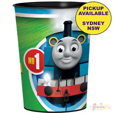 THOMAS THE TANK ENGINE PARTY SUPPLIES 1 PLASTIC KEEPSAKE TUMBLER CUP FAVOURS