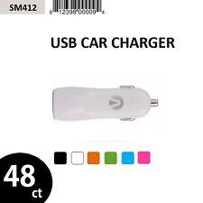 Wholesale Lot 48X Original Accent Usb 1-Port Car Charger
