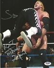 Bret Hart Sycho Sid Vicious Signed 8x10 Photo PSA/DNA COA WWE Justice Autograph