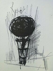 Bernard Buffet: Rosa Rosa - Engraving Signed #1961#