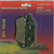 Honda Disc Brake Pads XLR125R XR125SM 1993 & 1997 & 2004 Front (1 set)