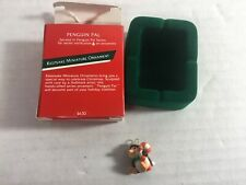 Hallmark Miniature Ornament Penguins Piles Number Two In Series 1989 Qm5602
