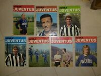 Lotto 7 Riviste HURRA' JUVENTUS JUVE 1969 al 1973 ROBERTO BETTEGA FABIO CAPELLO