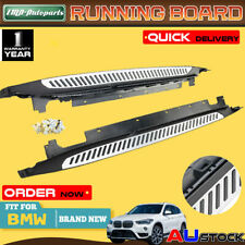 Premium Aluminium Side Steps Running Boards for BMW X1 F49 16-17 Long Wheelbase