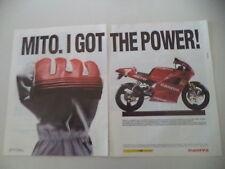 advertising Pubblicità 1993 MOTO CAGIVA MITO 125