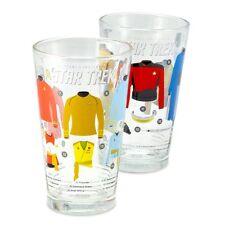 Star Trek Uniforms & Equipment of Star Trek Pint Glasses - Set of Two