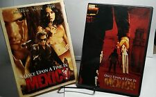 Once Upon a Time in Mexico (DVD,2004)w'Slipcover-Free S&H-Johnny Depp-A Banderas