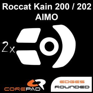 Corepad Skatez Roccat Kain AIMO 200 202 Ersatz Mausfüße Hyperglides Hyperglide