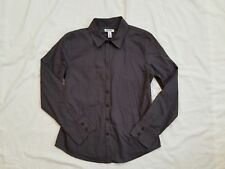 NWT Old Navy Women's 100 % Cotton Poplin Dress Shirt Petite Size Small S