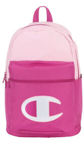 BRAND NEW CHAMPION YOUTH SUPERSIZE BACKPACK SCRIPT LOGO PINK COMBO