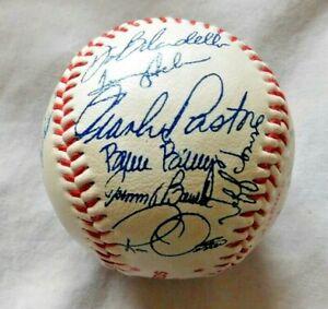 1983 Cincinnati Reds Facsimile signed Baseball