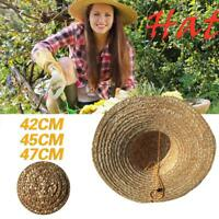 Retro Chinese Fisherman Handmade Straw Bucket Rainproof Tourism Cap Sunshade Hat