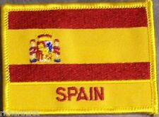 Embroidered International Patch National Flag of Spain NEW flag