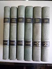 1934 ROMANS ET NOUVELLES DE PIERRE LOUYS 6 VOLUMES ILLUS M LYDIS PREF CL FARRERE