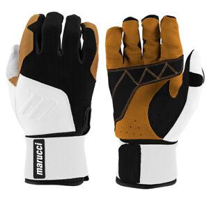 Marucci Blacksmith BTG Heavy-Duty Embossed Goatskin Palm Training Batting Gloves