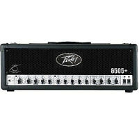 Peavey 6505+ Plus 120-Watt High Gain Guitar Amplifier Amp Head + Footswitch