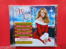compact disc,cds,mariah carey,merry christmas II you,two you,CD+DVD,santa claus