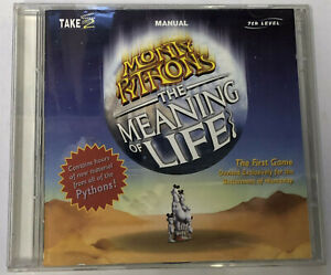 MONTY PYTHON The Meaning Of Life - PC CD ROM With Booklet