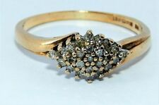 Marquise Yellow Gold Anniversary Fine Diamond Rings
