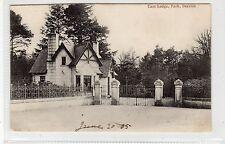 EAST LODGE, PARK, DEESIDE: Aberdeenshire postcard (C25098)