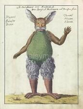 Demon Devil Beelzebub Creature Monster Beast Horror 1766 7x5 Inch Reprint Print