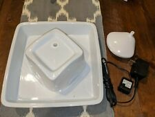 New listing Pioneer Pet Peaceful Waters White Ceramic Drinking Fountain