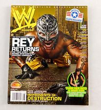 Rey Mysterio Jr August 2007 Mask Lucha Libre Magazine Raw WWE WWF