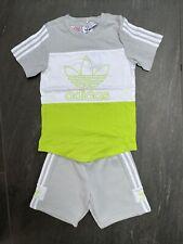 Adidas Originals Baby Spirit Set Grey/Green Size 2-3 Years BRAND NEW GL2308