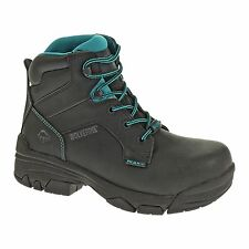 "Wolverine Women's Merlin 6"" Composite Toe Waterproof Work Boots W10384"