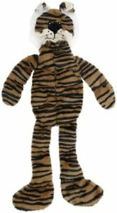 "SPOT ETHICAL SKINNEEZ SKINNEEEZ TONS O SQUEAKERS 19 SQUEAKER 20"" TIGER DOG TOY"