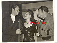 Vintage Roy Rogers Rita Hayworth George Montgomery 48 CANDID Portrait by HURRELL