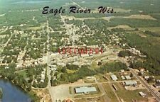 1979 aerial view EAGLE RIVER, WI