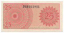 25 sen INDONESIA 1964 - Billete sin circular