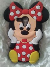 ES- PHONECASEONLINE FUNDA SILICONA MINNIE RED PARA SAMSUNG GALAXY S3 MINI I8190
