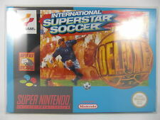 SUPER NINTENDO INTERNATIONAL SUPERSTAR SOCCER DELUXE - NUEVO - 00876 EUROPEO NEW