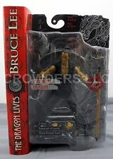 "Bruce Lee The Dragon Lives IMMORTAL DRAGON 7"" Action Figure Art Asylum NIP 2001"