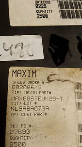 Lot of 50 pieces of Maxim MAX8867EUK29-T  (# a1)